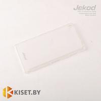 Силиконовый чехол Jekod с защитной пленкой для Sony Xperia Z3, белый