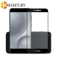 Защитное стекло на весь экран для Xiaomi Mi 5c, черное