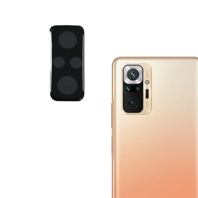 Защитное стекло KST на заднюю камеру Full Glue для Xiaomi Redmi Note 10 Pro черный
