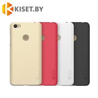 Пластиковый бампер Nillkin и защитная пленка для Xiaomi Redmi Note 5A, черный