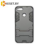 Гибридный противоударный чехол Hard Cover для Xiaomi Mi 5X / 1A, черный