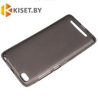 Силиконовый чехол KST MC для Xiaomi Redmi 3 черный матовый