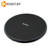 Беспроводное зарядное QI для телефона HOCO CW6 черное
