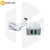 Сетевое зарядное устройство LDNIO A2202 2 порта USB с кабелем Lightning белое