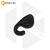 Силиконовый накладной наушник с дополнительной фиксацией для Bluetooth гарнитуры Jabra