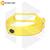 Силиконовый ремешок для Xiaomi Mi Band 3 / Mi Band 4 желтый