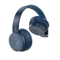 Беспроводные bluetooth наушники BOROFONE BO 11 черно-синий
