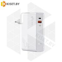 Портативное зарядное устройство Baseus GaN PPNLD-C02 10000mAh 45W белый