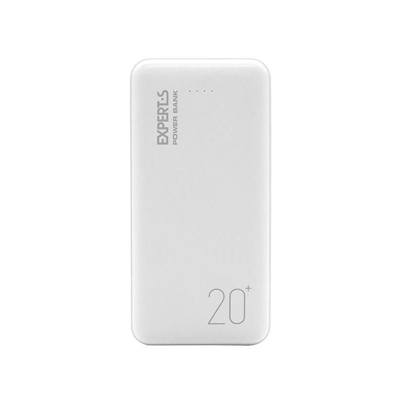 Портативное зарядное устройство EXPERTS P220 20 000 mAh белый