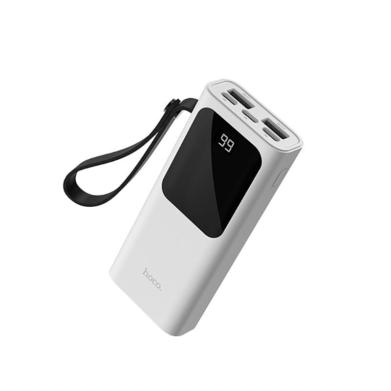 Портативное зарядное устройство Hoco Power Bank J41 10 000 mAh белый