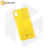 Силиконовый чехол Jelly для Apple iPhone 6 / 6s желтый