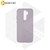 Soft-touch бампер Silicone Cover для Huawei P40 Lite E / Y7p лавандовый с закрытым низом