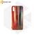 Силиконовый чехол Aurora Glass для Xiaomi Redmi 6A красно-синий