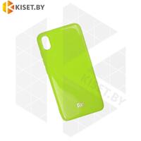 Силиконовый чехол Jelly для Apple iPhone 6 / 6s зеленый