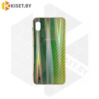 Силиконовый чехол Aurora Glass для Apple iPhone 7 / 8 Plus зеленый