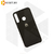 Soft-touch бампер Silicone Cover для Huawei P40 Lite E / Y7p черный