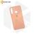 Soft-touch бампер Silicone Cover для Huawei P40 Lite E / Y7p розовый