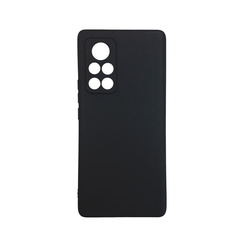 Силиконовый чехол KST MC для Huawei Honor V40 5G черный матовый