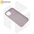 Силиконовый чехол Hoco для iPhone 12 / 12 Pro серый