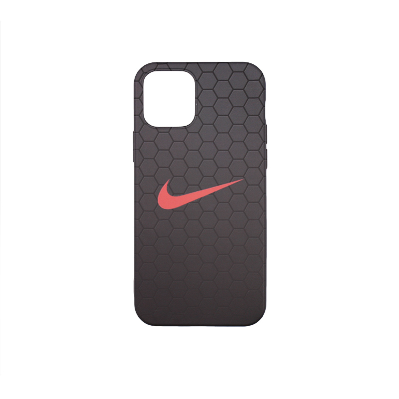 Силиконовый чехол Print Soft Touch для Apple iPhone 12 Pro Max рисунок Nike