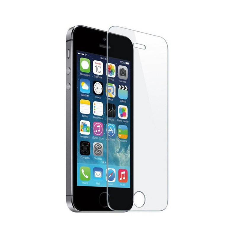 Защитное стекло для Apple iPhone 5 / 5s / 5c / SE, прозрачное