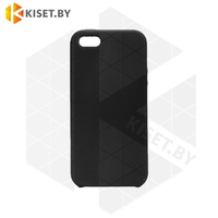 Бампер Silicone Case для iPhone 5 / 5s / SE черный #18 без логотипа
