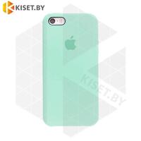 Бампер Silicone Case для iPhone 5 / 5s мятный #17