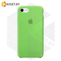 Бампер Silicone Case для iPhone 5 / 5s зеленый #1