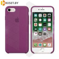 Бампер Silicone Case для iPhone 6 / 6s марсала #52