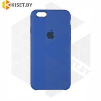 Бампер Silicone Case для iPhone 6 / 6s синий #40
