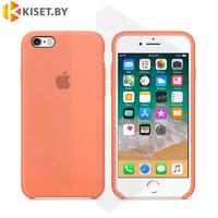 Бампер Silicone Case для iPhone 6 / 6s светло-персиковый #42