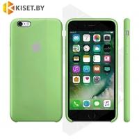 Бампер Silicone Case для iPhone 6 / 6s зеленый #1