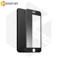 Защитное стекло матовое полной проклейки Full glue для Apple iPhone 6 Plus / 6s Plus черное