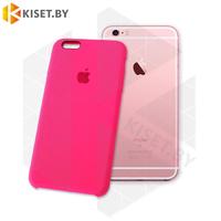 Бампер Silicone Case для iPhone 6 Plus / 6s Plus розовый неон