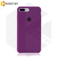 Бампер Silicone Case для iPhone 7 Plus / 8 Plus, фиолетовый