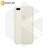 Бампер Silicone Case для iPhone 7 Plus / 8 Plus кремовый #11