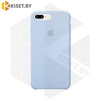 Бампер Silicone Case для iPhone 7 Plus / 8 Plus небесный #5