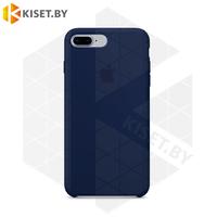 Бампер Silicone Case для iPhone 7 Plus / 8 Plus космический-синий #8