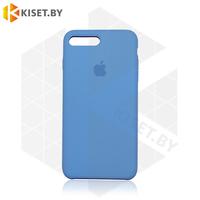 Бампер Silicone Case для iPhone 7 Plus / 8 Plus джинсовый #24
