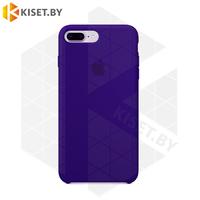 Бампер Silicone Case для iPhone 7 Plus / 8 Plus синий #40