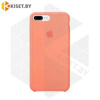 Бампер Silicone Case для iPhone 7 Plus / 8 Plus светло-персиковый #42