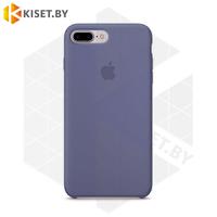 Бампер Silicone Case для iPhone 7 Plus / 8 Plus серо-сиреневый #46