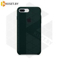 Бампер Silicone Case для iPhone 7 Plus / 8 Plus темно-малахитовый #49
