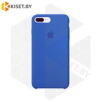 Бампер Silicone Case для iPhone 7 Plus / 8 Plus кобальтовый #3