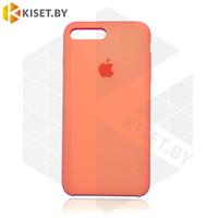 Бампер Silicone Case для iPhone 7 Plus / 8 Plus папайа #56