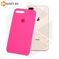 Бампер Silicone Case для iPhone 7 Plus / 8 Plus розовый неон #47