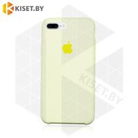 Бампер Silicone Case для iPhone 7 Plus / 8 Plus ванильный #51