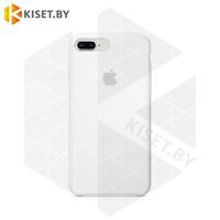 Бампер Silicone Case для iPhone 7 Plus / 8 Plus белый #9