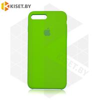 Бампер Silicone Case для iPhone 7 Plus / 8 Plus салатовый #31