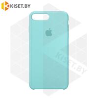 Бампер Silicone Case для iPhone 7 Plus / 8 Plus аквамарин #44